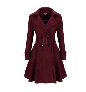 Новое демисезонное пальто 44-46