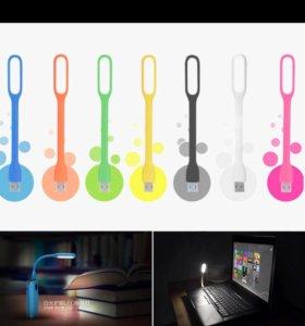 лампа гибкая USB