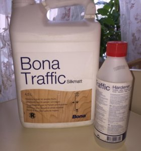 Паркетный лак (Bona Traffic) silkmatt