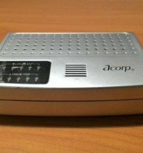 Коммутатор Acorp HU5DP