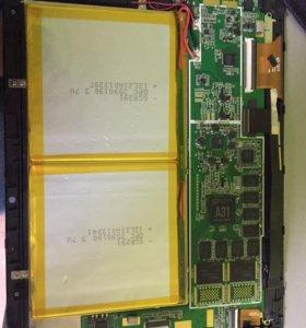 Texet tm-9751hd 16gb на запчасти