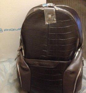 Кожаный рюкзак Piquadro Coleos Wow Croco