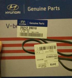 Ремень 252122B010 для Kia Rio, Hyundai Solaris