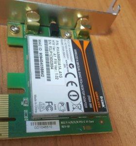 Wi-Fi адаптер D-Link DWA-566 без антен