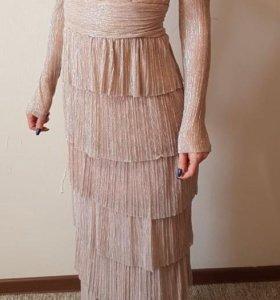 Платье выпускное вечернее в пол