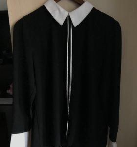 Черная блуза L