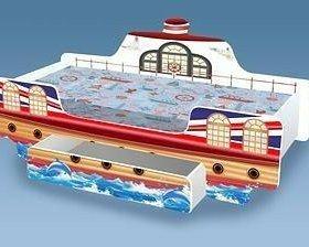 Кровать кораблик с ящиком Новая