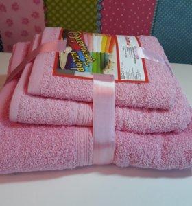 Подарочный набор полотенец, 3шт. Качество супер!