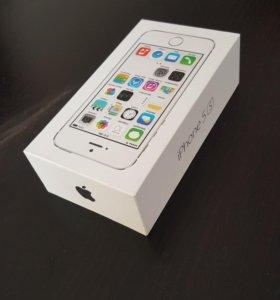 Коробка от телефона iPhone 5s