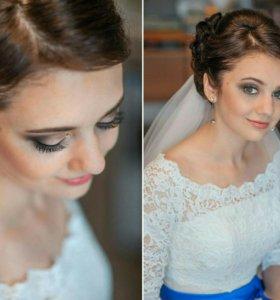 Свадебный стилист, Причёска и макияж