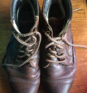 Утеплённые ботинки respect,41
