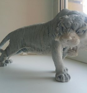 Статуэтка тигра из натурального камня