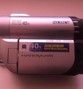 Видеокамера SONY HANDYCAM HYBRID DCR-DVD610E