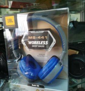 Беспроводные наушники Bluetooth с MP3 и FM-радио