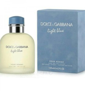 """LIGHT BLUE POUR HOMME"" DOLCE GABBANA, 125ML, EDT"