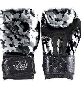Перчатки для бокса кожа
