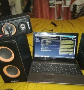 Ноутбук Acer 5750g с колонками