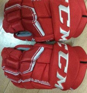 Супер перчатки хоккейные CCM QUICK LITE
