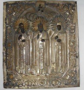 Икона « Избранные Святые». (Андрей, Ирина, Иоанн)