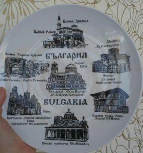 Красивая новая тарелка из Болгарии