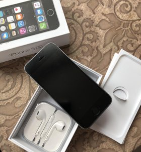 iPhone 5s 16 гб, space gray
