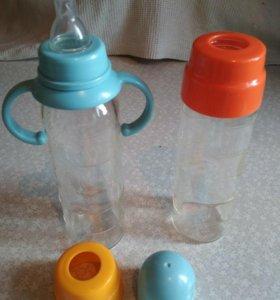 Стеклянные бутылочки 250 мл