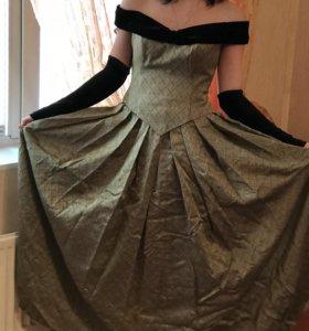 Комплект юбка и корсет