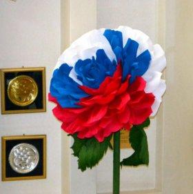 Ростовые цветы Роза интерьерная диаметр 60 см