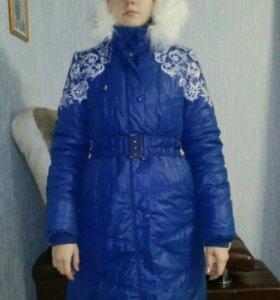 Куртка пуховик для девочки