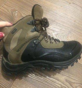 Прорезиновые ботинки