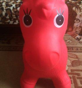 Игрушка ослик-надувной