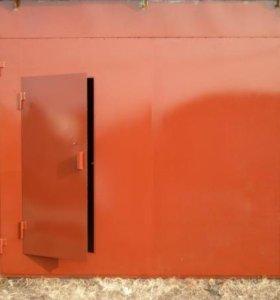 Ворота гаражные, металлические. Любой размер