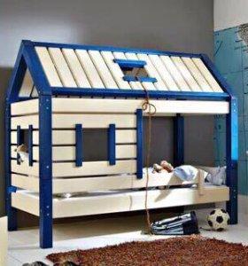 Домик кроватка