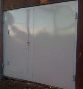 Ворота гаражные. Металл - 3 мм.