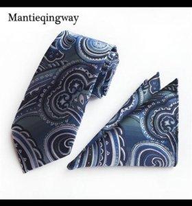 Набор галстук и платок