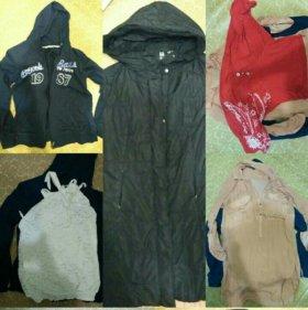 Пальто куртка одежда пакетом