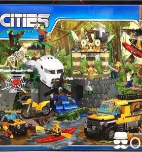 Конструкторы аналоги Лего Сити