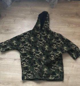 Плюшевая мягкая милитари Пальто Куртка женское