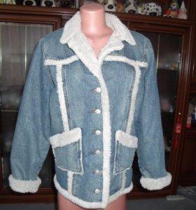 Шикарные  новые куртки на весну р.46-48