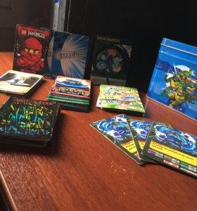 Оригинальные карточки+коробка beyblade