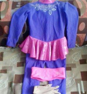 Продам костюм для фигурного катания для девочки!