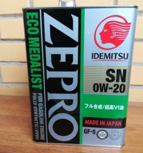 Масло Idemitsu Zepro Eco Medalist 0w20