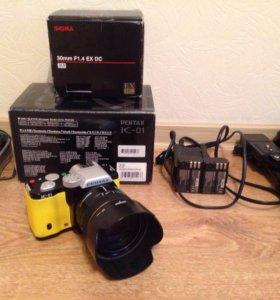 Фотоаппарат Pentax k-01