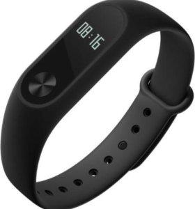 Фитнес-браслет-часы xiaomi Mi Band 2 Black