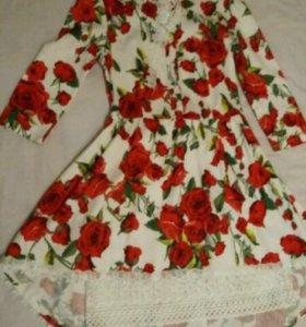 Платье Evona с кружевом + подарок