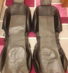 Чехлы кожаные для Kia Rio