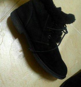 Ботинки зимние pierre kardin