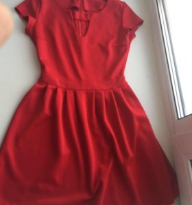 Бордовое платье 🌸