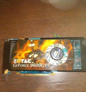 Видеокарта zotac 9600