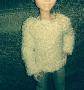 Одежда для Ever After High. Вязаный свитер.